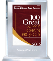 Slava Apel | Supply & Demand Chain Executive's 100 Great Supply Chain Projects 2012
