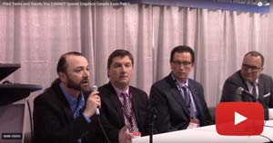 Print Techs and Trends You CANNOT Ignore! Graphics Canada Expo Part 1