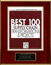 Slava Apel | Best 100 Supply Chain Transformations & Projects 2016