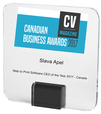 Web to Print Software CEO of the Year 2017 | CV Magazine Canadian Business Awards