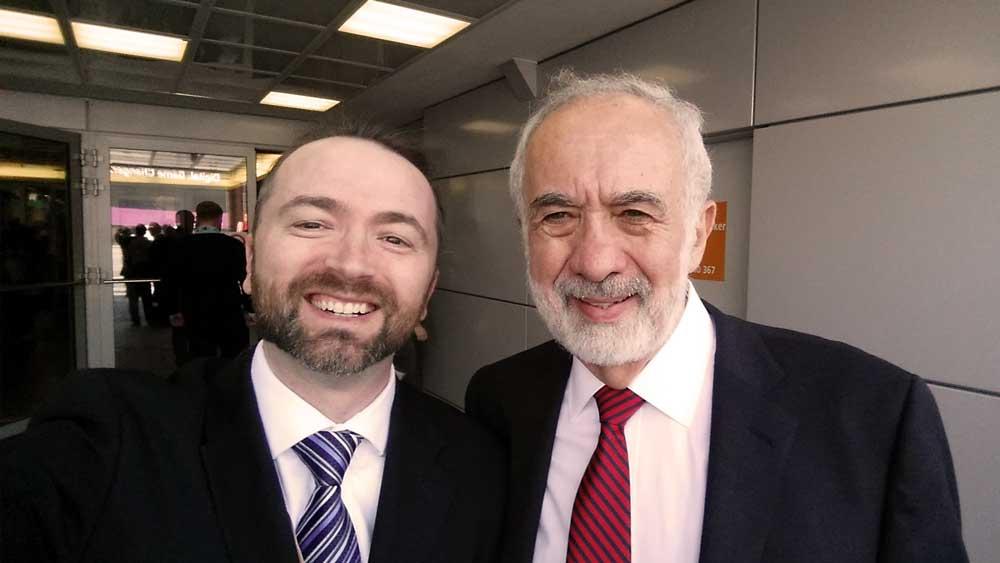 Benny Landa with Slava Apel